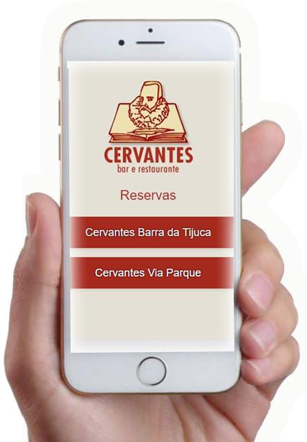 aplicativo reservas Cervantes