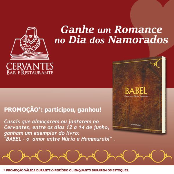 Promoção Babel Cervantes